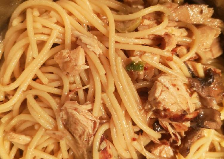 Recipe: Yummy Spaghetti in Miso sauce