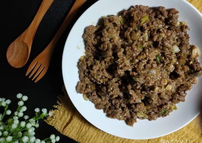 Daging Sapi Cincang Kecap Isian Bakpao, Roti, atau Lauk - projectfootsteps.org