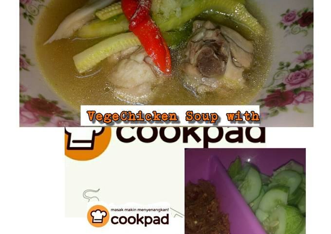 Vege Chicken Soup Michele's Signature