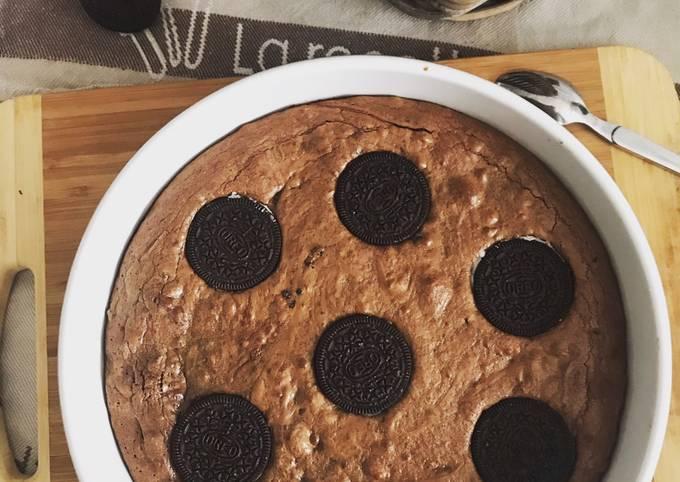 Gâteau chocolat Oreo