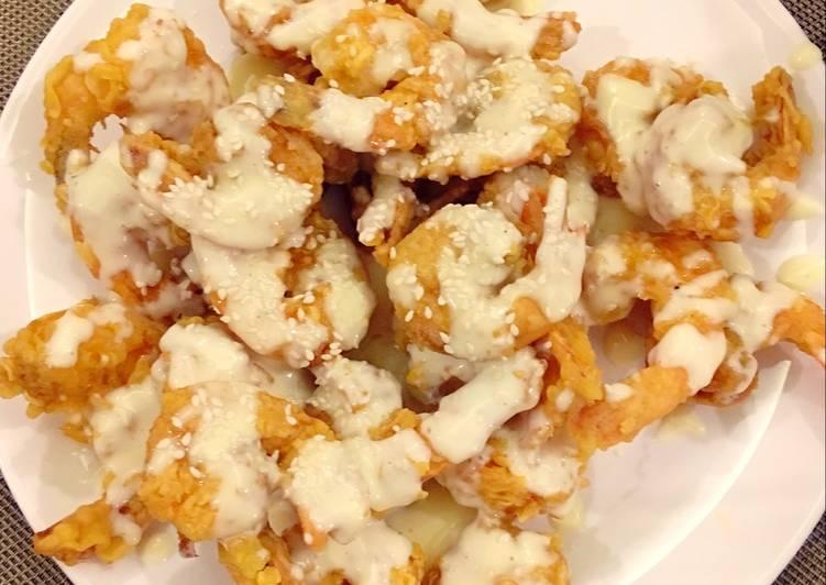Resep Udang Goreng Mayonaise ala Chinese Resto oleh nadia abdillah