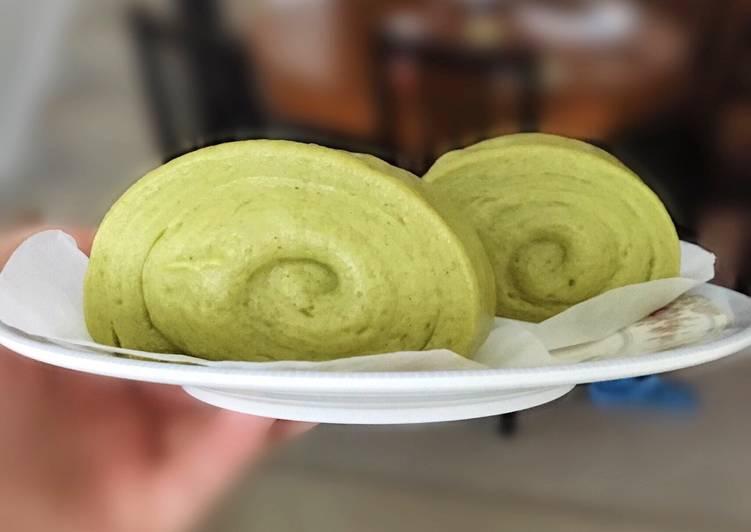 The Best Dinner Ideas Fall Matcha Mantou (Steamed Buns)