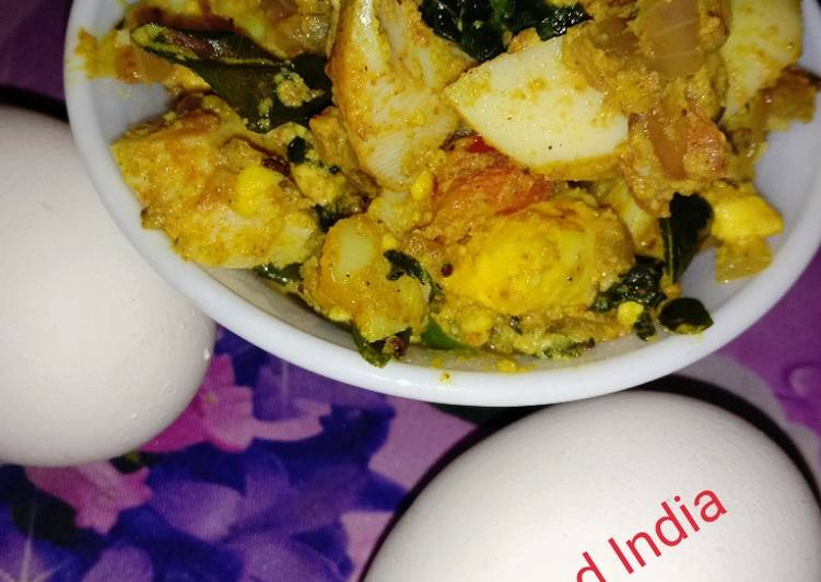 30 Minute How to Make Favorite Egg masala
