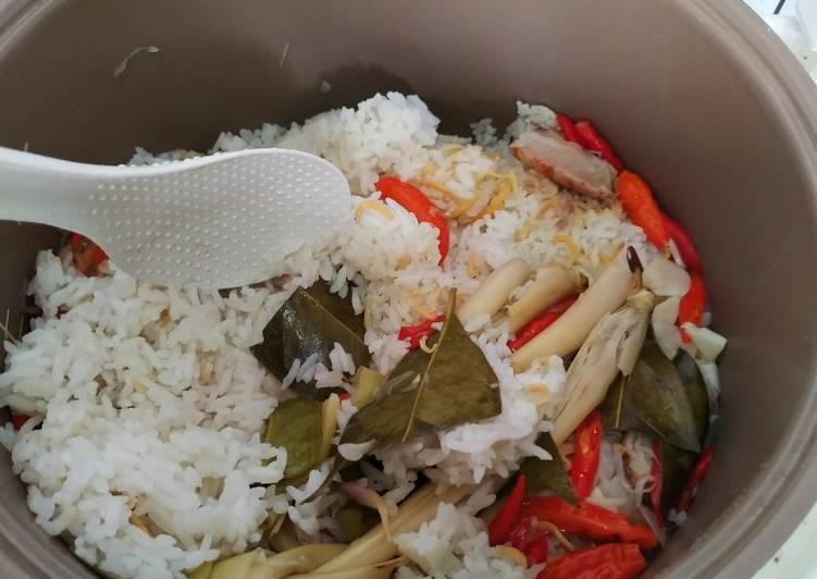 Nasi Liwet Rice Cooker Bumbu Tumis