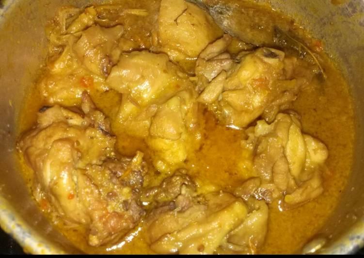 Resep Ayam bumbu rujak sederhana Yang Gampang Pasti Enak
