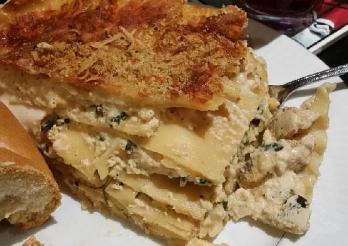 Brad's white lasagna