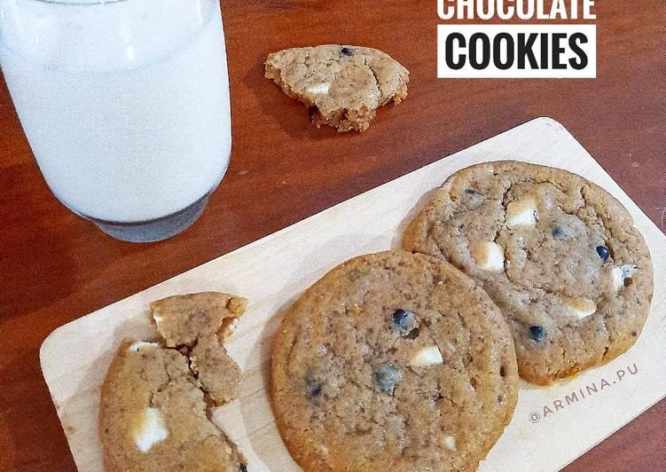 Resep Chewy Chocolate Cookies (ala New York Times), Lezat