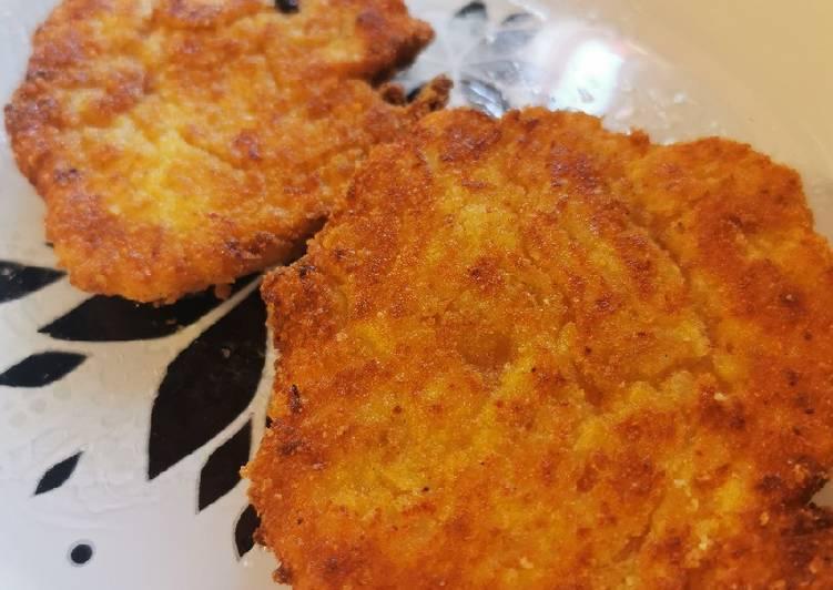 Pancakes salées aux pommes de terre