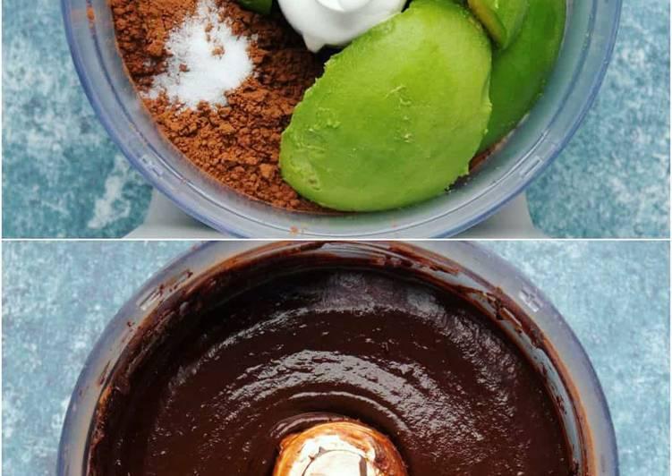 Budino di Avocado al Cioccolato 🥑