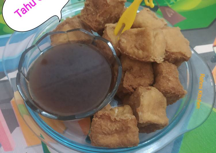 Tahu Gejrot modifikasi - cookandrecipe.com