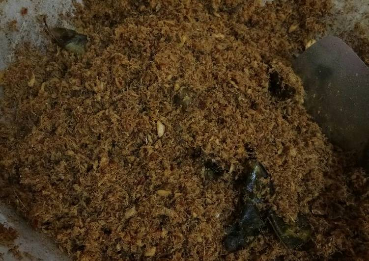 Bajabu bugis / abon ikan