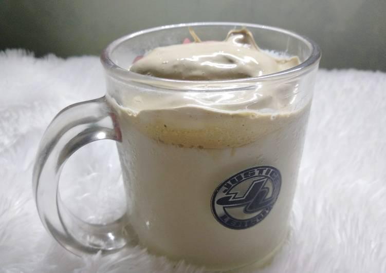 Tutorial Mempersiapkan Resep Sempurna Dari Dalgona Coffee