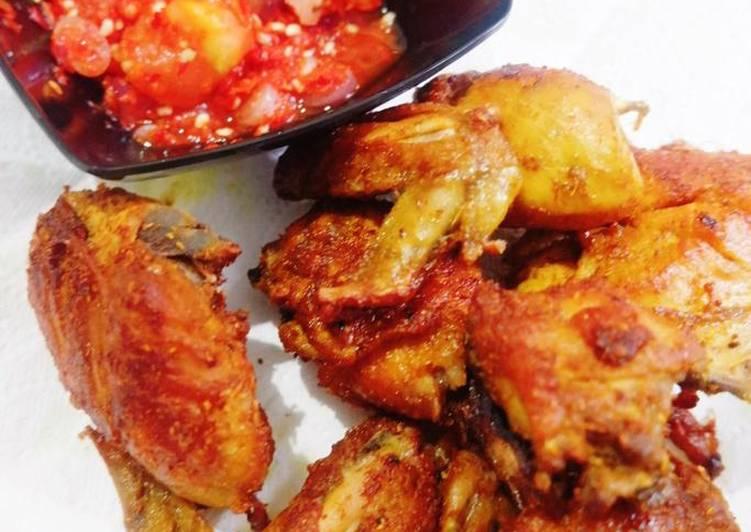 Bagaimana mengolah Ayam Goreng Sambel Pecak, Sempurna