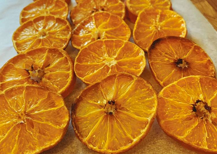 Recipe of Super Quick Homemade Oven dried Clementines