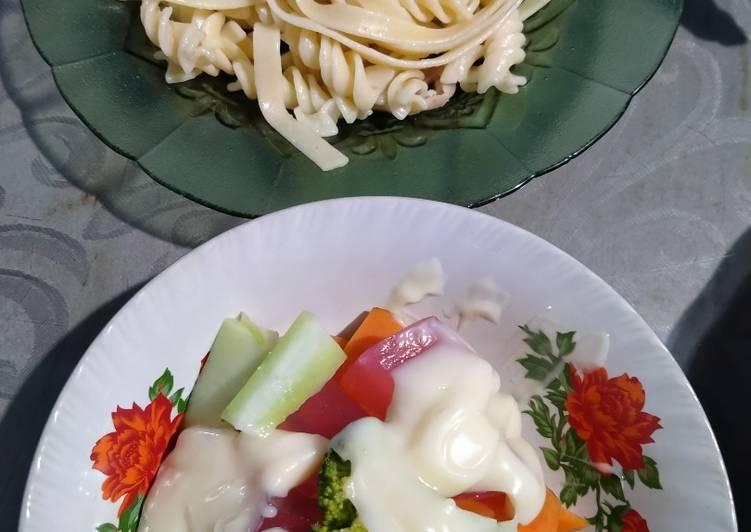 Resep Spaghetti Salad Yummy Anti Gagal