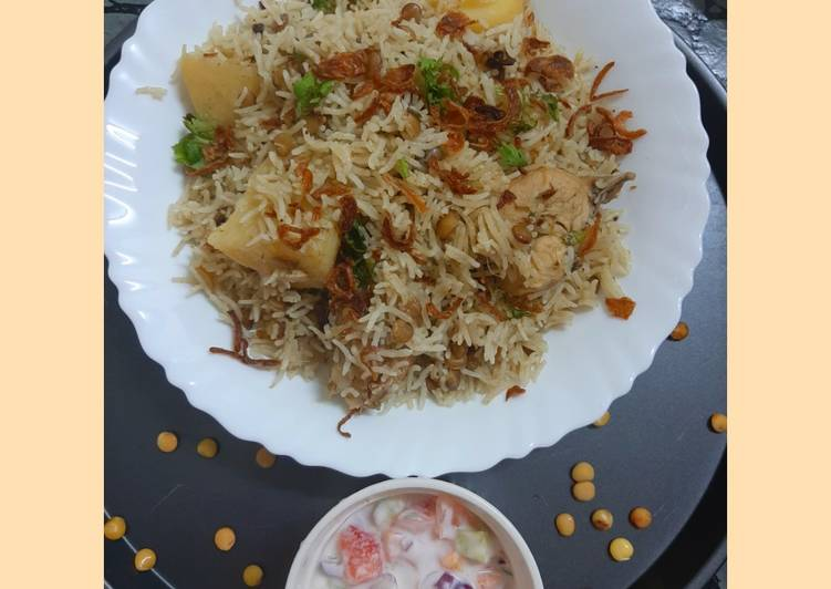Steps to Make Award-winning Chicken masoor pulav