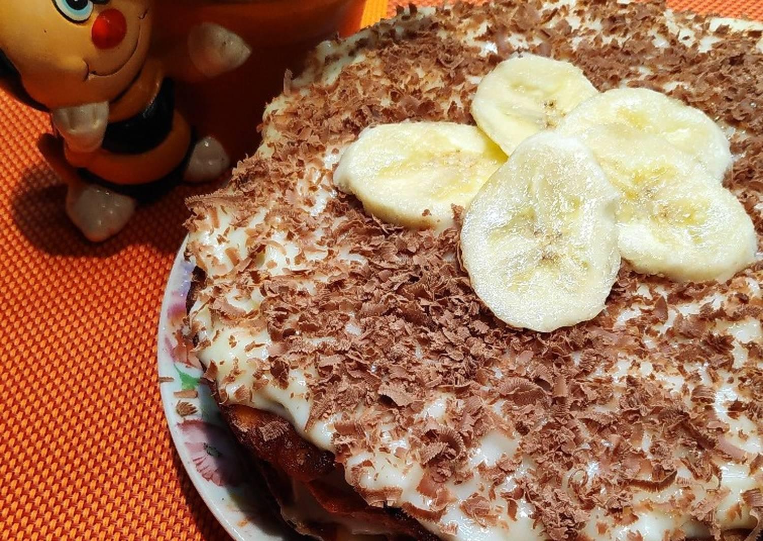 этой целью банановый торт простой рецепт с фото также несколько