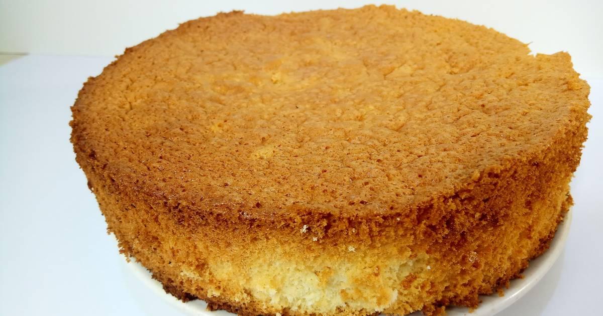 Воздушный бисквитный торт рецепт с фото
