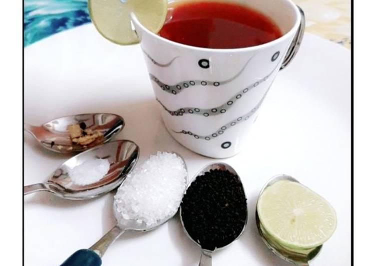 Special Ginger-lemon tea