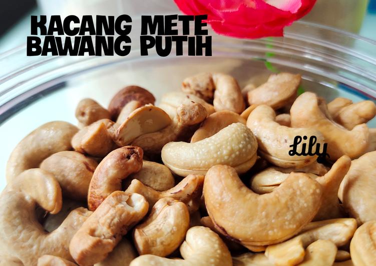 Kacang Mete Bawang Putih