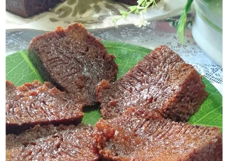 resep bikin Bolu sarang semut / bolu karamel - Sajian Dapur Bunda