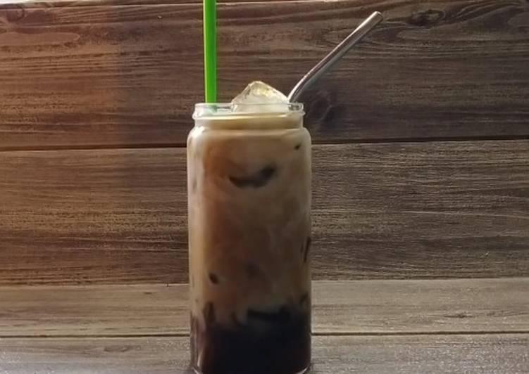 Choco freshmilk brown sugar coffee