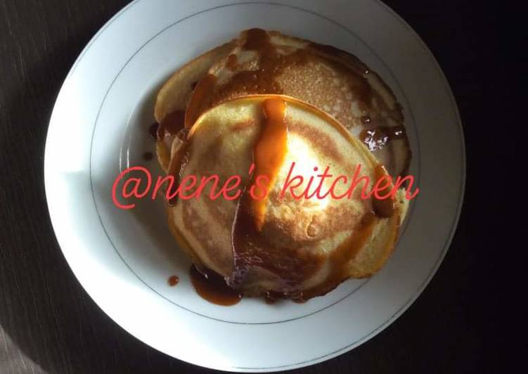 Easiest Way to Prepare Quick Fluffy pancake