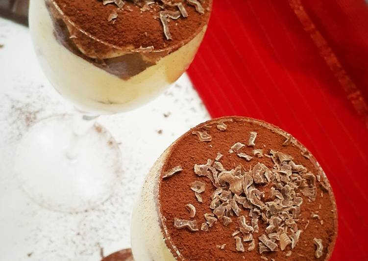 Simple Way to Prepare Favorite Tiramisu Alcohol free