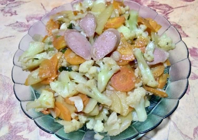 Capcay Sayur Simple