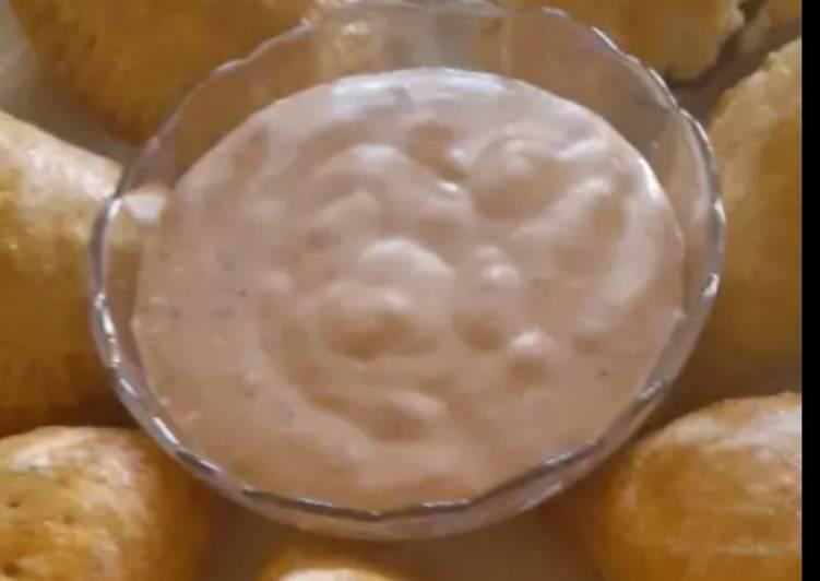 Simple Way to Prepare Favorite Sour Mayonnaise Dip