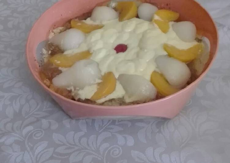 Delicious Crushed biscuit Dessert