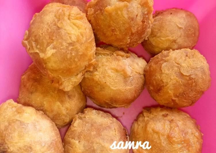 30 Minute Dinner Easy Royal Flour yam Balls