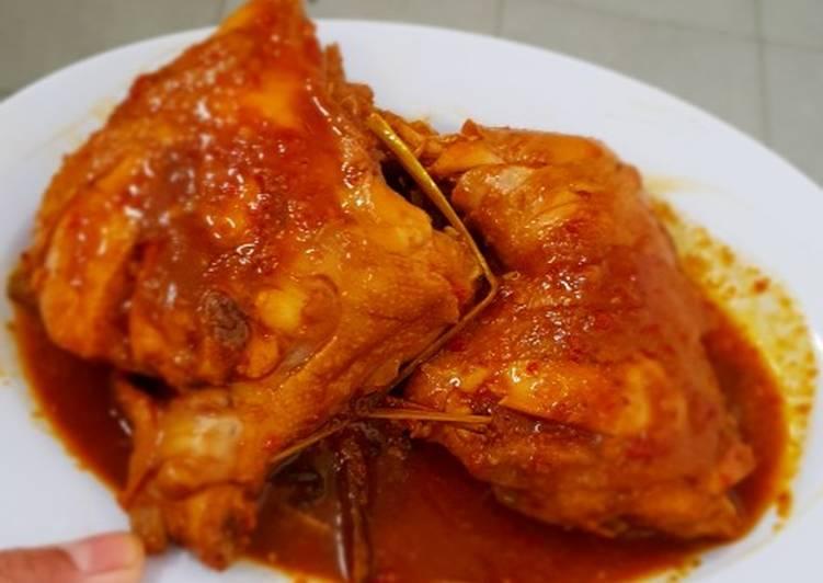 Cara Gampang Membuat Ayam bakar dan balado sekali masak Anti Gagal