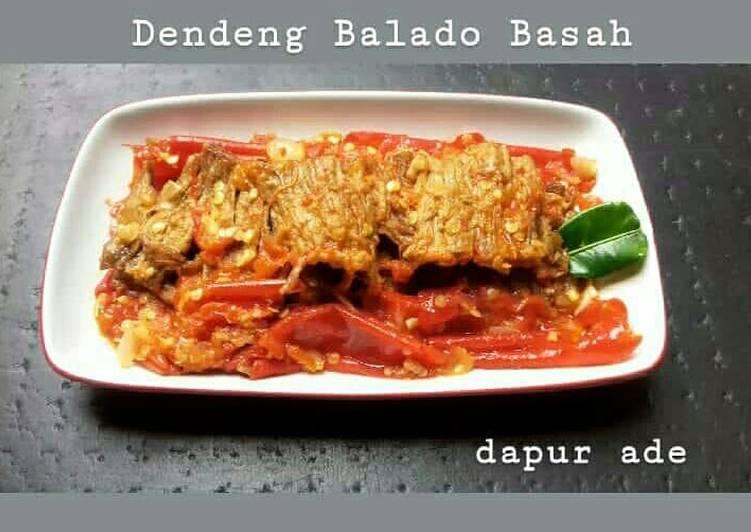 Dendeng Balado Basah (lagi)