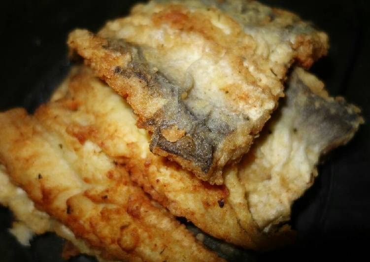 Steps to Make Quick Fried fish