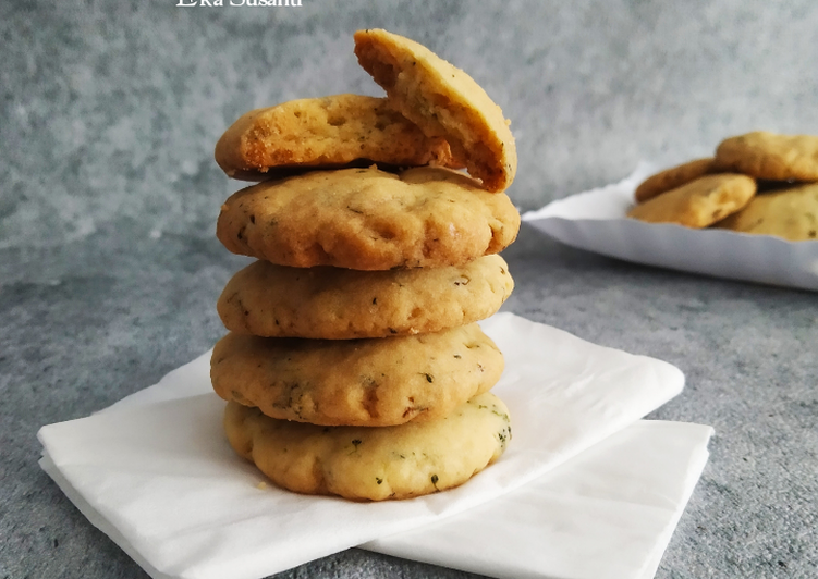 Resep: Berselera Cookies Brokoli