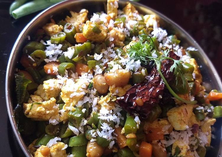 How to Make Top-Rated Beans palya(bhaji)