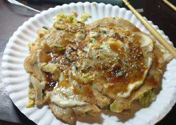 How to Prepare Perfect Wholewheat Okonomiyaki