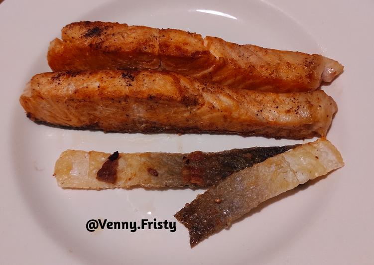 Ikan Salmon Goreng