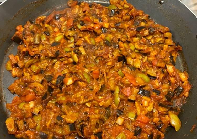 Ricetta Caponata di melanzane 🍆 al forno