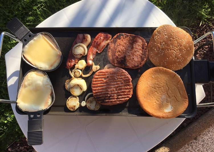 Plancha hamburger Mamounette