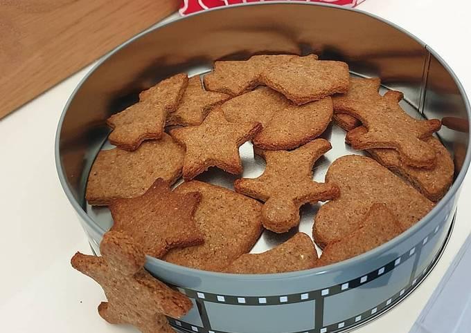 Biscuits de noël sans beurre