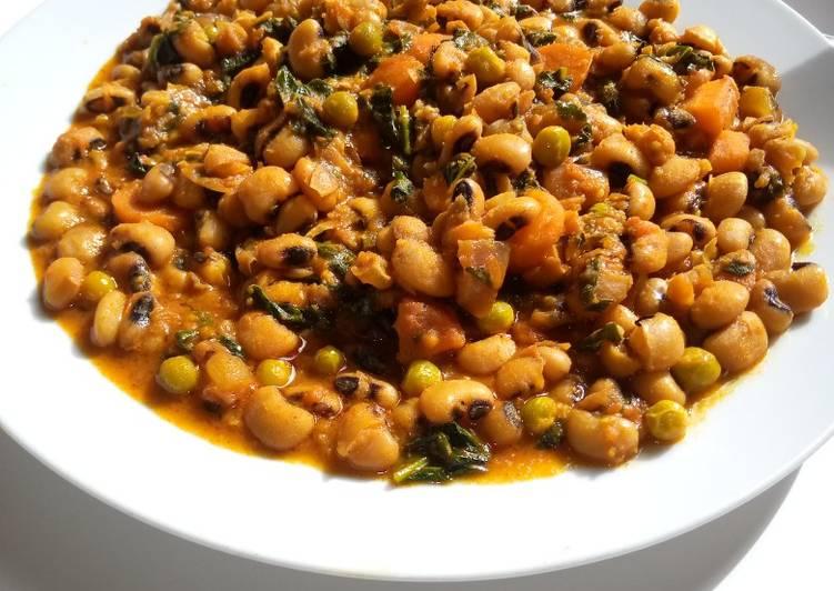 Recipe: Perfect Nutmeg beans porridge