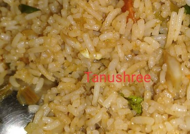 Grandmother's Dinner Easy Super Quick Homemade Chinese fried rice