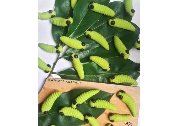 Caterpillar Cookies (Kukis Ulat Bulu)
