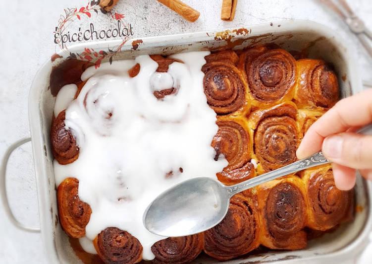 Le moyen le plus simple de Cuire Délicieux Cinnamon rolls