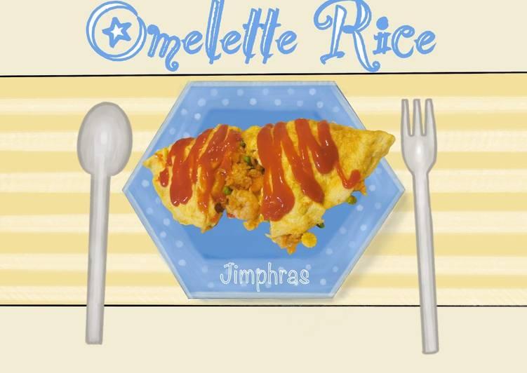 Recipe of Homemade Thai-ish Omelette Rice