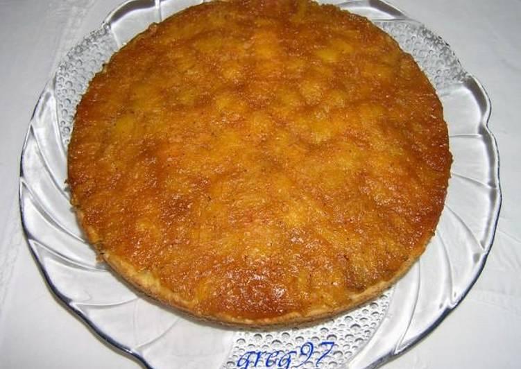Sweet loquat tart