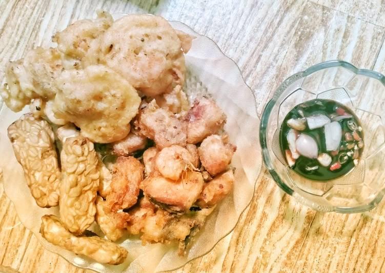 55. Salmon & Udang Crispy Sambel Kecap 😅