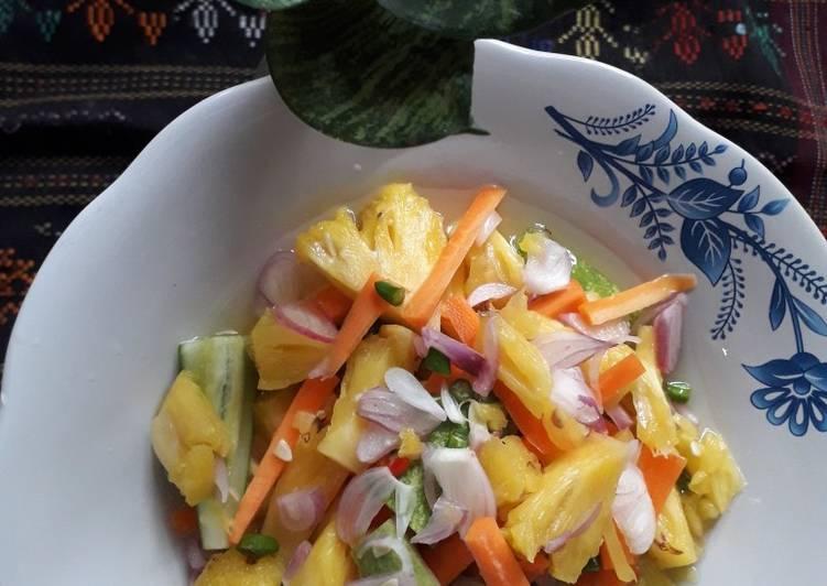 acar-nanas-wortel-timun
